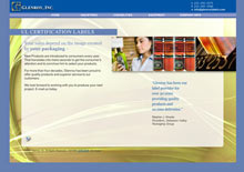 Glenroy, Inc. website for label manufacturer