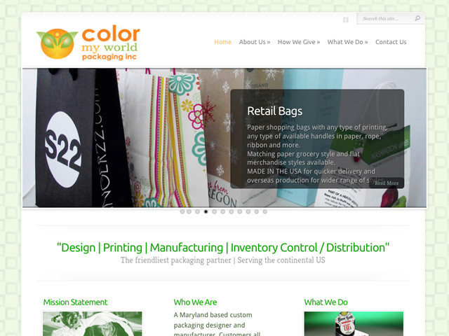Color My World – WordPress Site