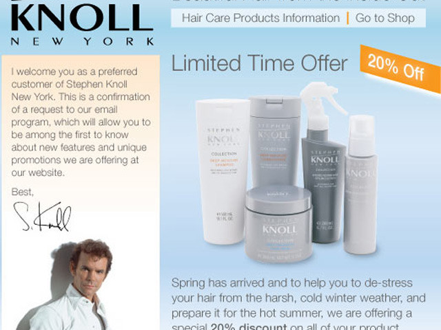 Stephen Knoll NY Hair Care