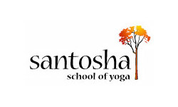 Santosha School of Yoga logo